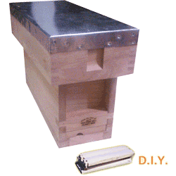 National DIY, Complete 1/3 Hive Standard Deep Box
