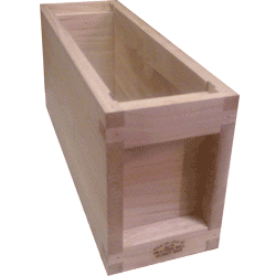 National Bee Hive, Assembled, 3 Frame 1/3 Hive, Standard Deep Box