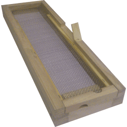 National Assembled, 1/3 Hive, Varroa Mesh Floor