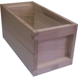 National Bee Hive, Assembled, 5 Frame 1/2 Hive, Standard Deep Box