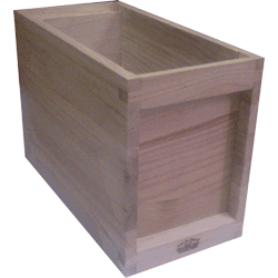 National Bee Hive, Assembled, 5 Frame 1/2 Hive, Extra Deep Box, Jumbo 14x12
