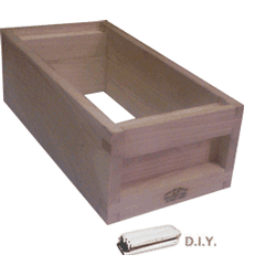 National DIY, 1/2 Hive, Standard Shallow Box