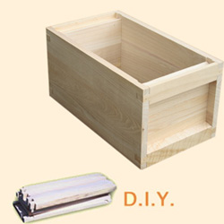 National DIY, 6 Frame Hive, Standard Deep Box