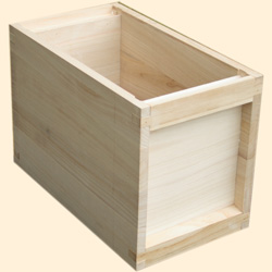 National Assembled, 6 Frame Hive Extra Deep Box, Jumbo 14x12
