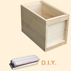 National DIY, 6 Frame Hive, Extra Deep Box, Jumbo 14x12