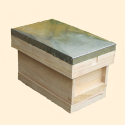 National Assembled, Complete 6 Frame Hive Standard Deep Box