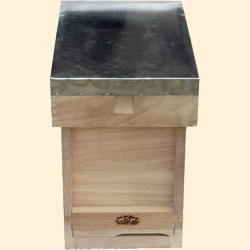 National Bee Hive, Assembled, Complete 6 Frame Hive, Extra Deep Box