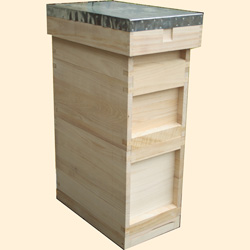 National 6 Frame Bee Hives