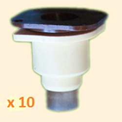 Queen Rearing Cup, Holder & Support Block, x 10