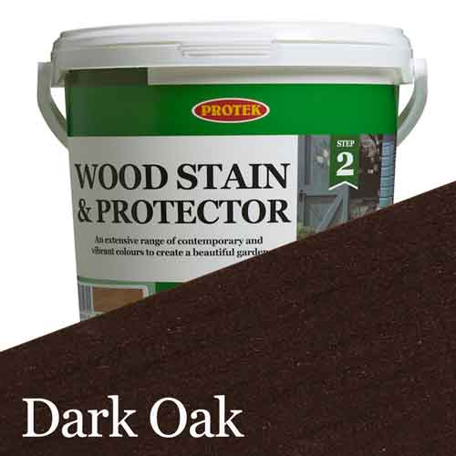 Bee Hive Wood Stain & Protector, Dark Oak, 1lt