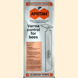 Apistan Strips, 10 pack