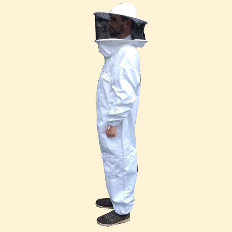 Beekeepers Suit, Hooped Hat Veil, White