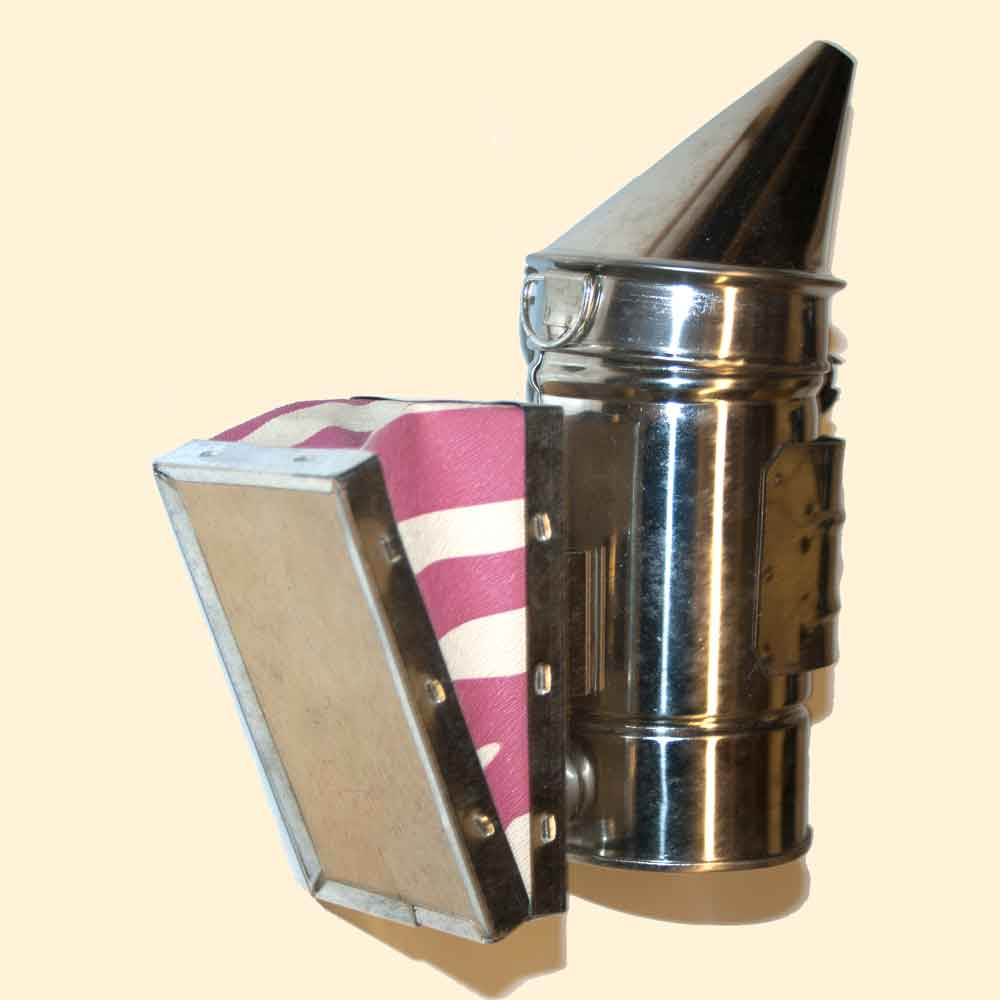 Bee Hive Smoker, Mini, Stainless Steel