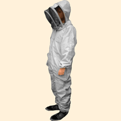 Beekeepers Suit, Fencing Hood Veil, White