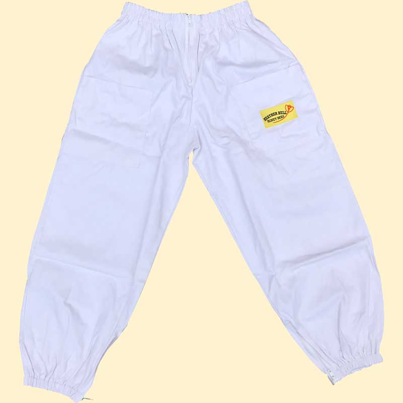 Beekeepers Trousers, White, Extra Large