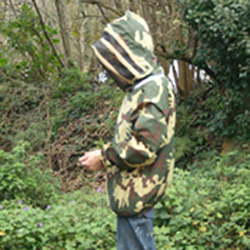 Beekeeping Smock, Camouflage, Small (to clear)
