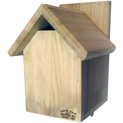 Garden Bird Nest Box, Gabled Roof, Wrens