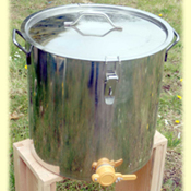 Honey Bottler, Settling Tank 50 kg
