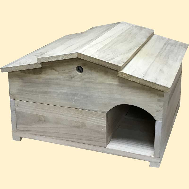Hedgehog House, Nest Box