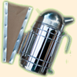 Bee Hive Smoker, European, Stainless Steel