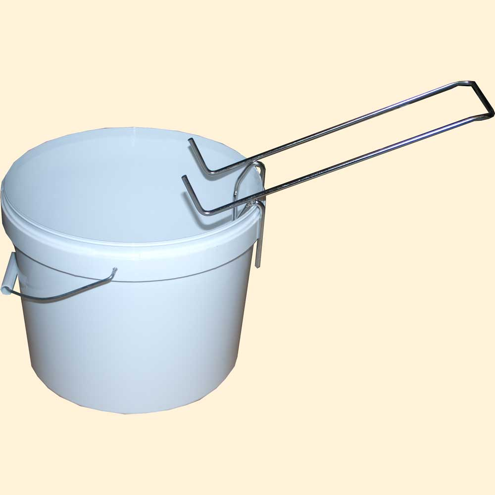 Honey Bucket Drainer Support
