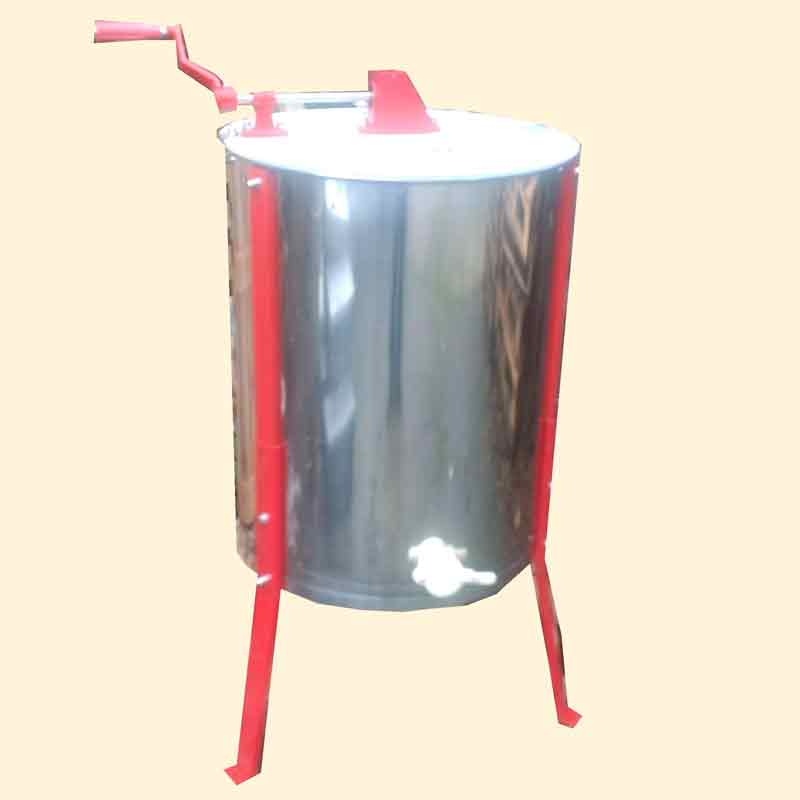Honey Extractor, 8 Frame Manual Radial, Stainless