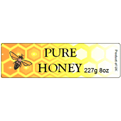 Honey Labels, x90, Small, D10