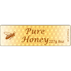 Honey Labels, x90, Small, D30