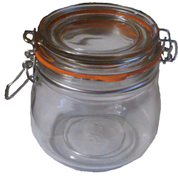 Honey Jar, Kilner Style, 500ml