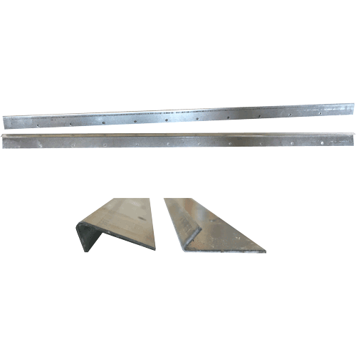 National Bee Hive, Frame Runners, Stainless Steel, x2