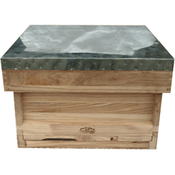 National Bee Hive, Assembled, Complete Hive, Standard Deep Box