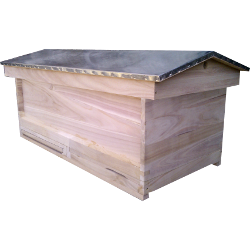 National Bee Hive, Assembled, Complete Long Hive with options