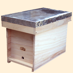 National Bee Hive, Assembled, Nucleus Box, Extra Deep, Jumbo 14x12