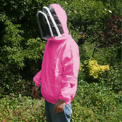 Beekeeping Smock, Pink, XL Size (to clear)