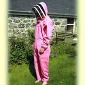Beekeeping Overalls, Pink, XL, to clear