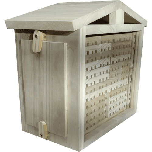 Solitary Bee Observation Hive, Insect House, Large