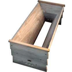 Cornish Top Bar Bee Hive, Box, Flat