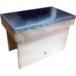 Cornish Top Bar Hive, 6 Comb Nucleus Box