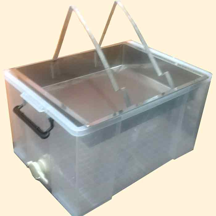 Honey Uncapping Tray & Tank