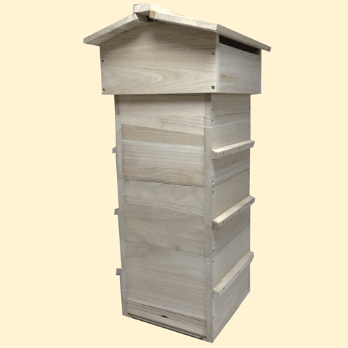 Warré Top Bar Hive, DIY, Complete