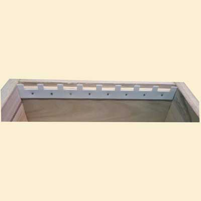 Warré Top Bar Hive, Castellated Spacers, x2 - Warré Bee Hives ...