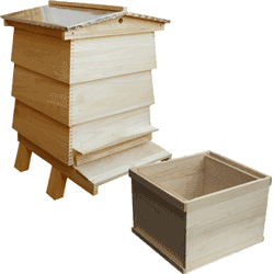 WBC Assembled, Complete Hive, Extra Deep 14x12 Box