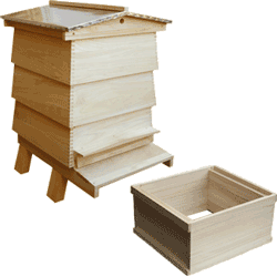 WBC Bee Hive, Assembled, Complete Hive, Standard Deep Box