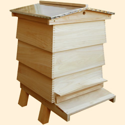 WBC Assembled, Bee Hive Outer Case
