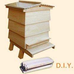 WBC DIY, Bee Hive Outer Case
