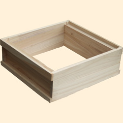 WBC Bee Hive, Assembled, Standard Shallow Box