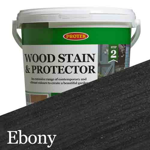 Bee Hive Wood Stain & Protector, Ebony, 1lt