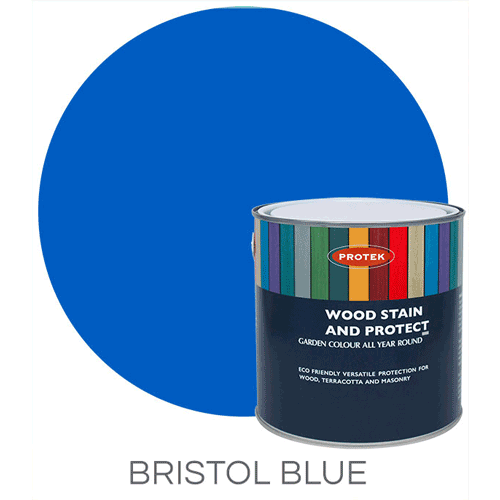 Bee Hive Wood Stain & Protector, Bristol Blue, 1lt