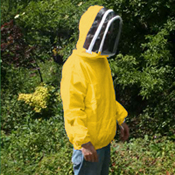 Beekeeping Zip Front Jacket, Yellow, X Large (to clear)