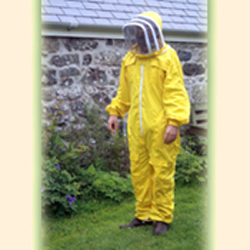 Beekeeping Overalls, Yellow, Large, (to clear)